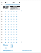 DataLink 1200 Ballots, Surveys, Item Analysis, and Tally Forms